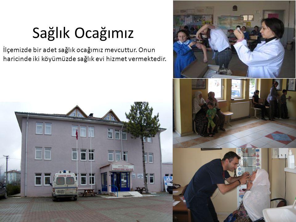 Sağlık Ocağımız İlçemizde bir adet sağlık ocağımız mevcuttur. Onun haricinde iki köyümüzde sağlık evi hizmet vermektedir.