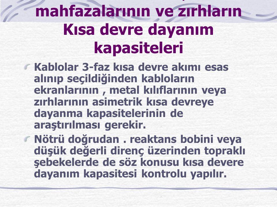 YER ALTI KABLOSU BAŞLIK MALZEMELERİ