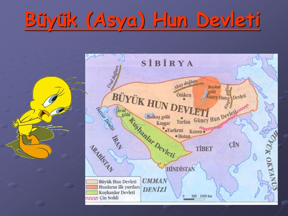 Bütün Türk Orta Asya'dan göç etmediler. Türklerin bir kısmı, Orta Asya'nın elverişli bölgelerinde yaşamaya devam ettiler ve büyük devletler kurdular (