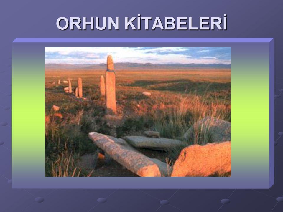 Yazı, Dil ve Edebiyat Göktürkler, yazıyı ilk kullanan Türk devletidir. Göktürk alfabesini kullanmışlardır. Türk tarihinin ilk yazılı belgelerini bırak