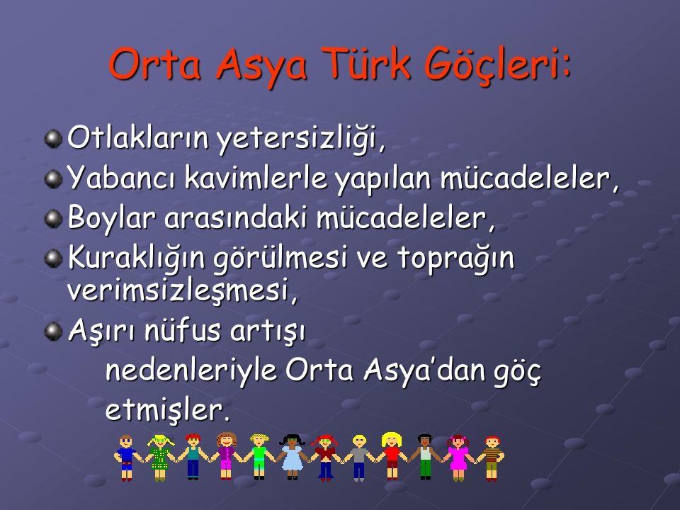 Türkler askerliğe ve silah yapımına önem vermişlerdir. Orta Asya'nın korumasız bir yapıda olması, Türklerin her zaman dış tehlikelere karşı karşıya ka
