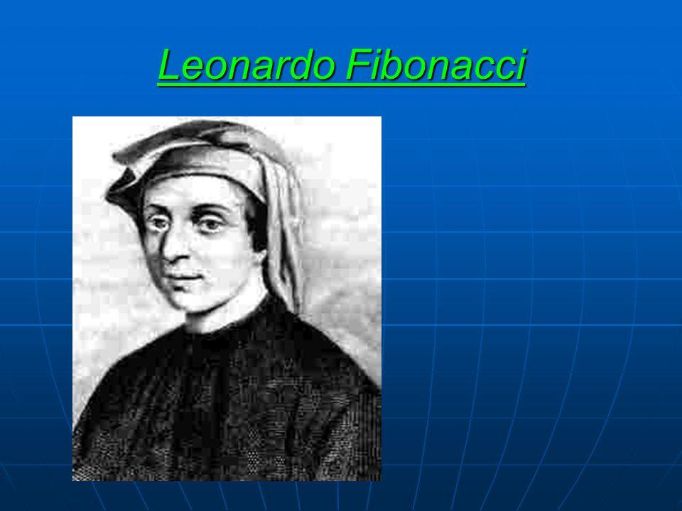   Leonardo Fibonacci 1175 civarında İtalya da doğdu.