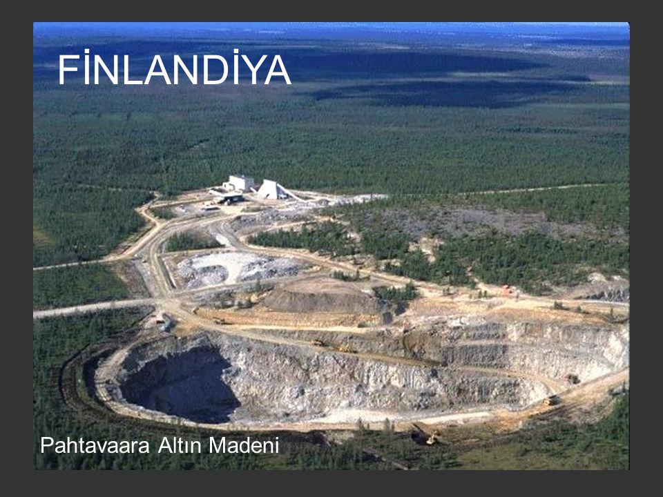Bakır Madeni Atık Havuzu - Arizona