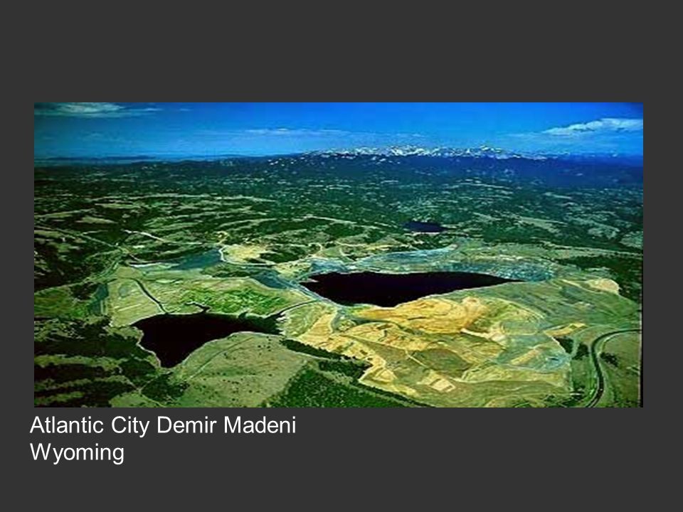 Atlantic City Demir Madeni Wyoming