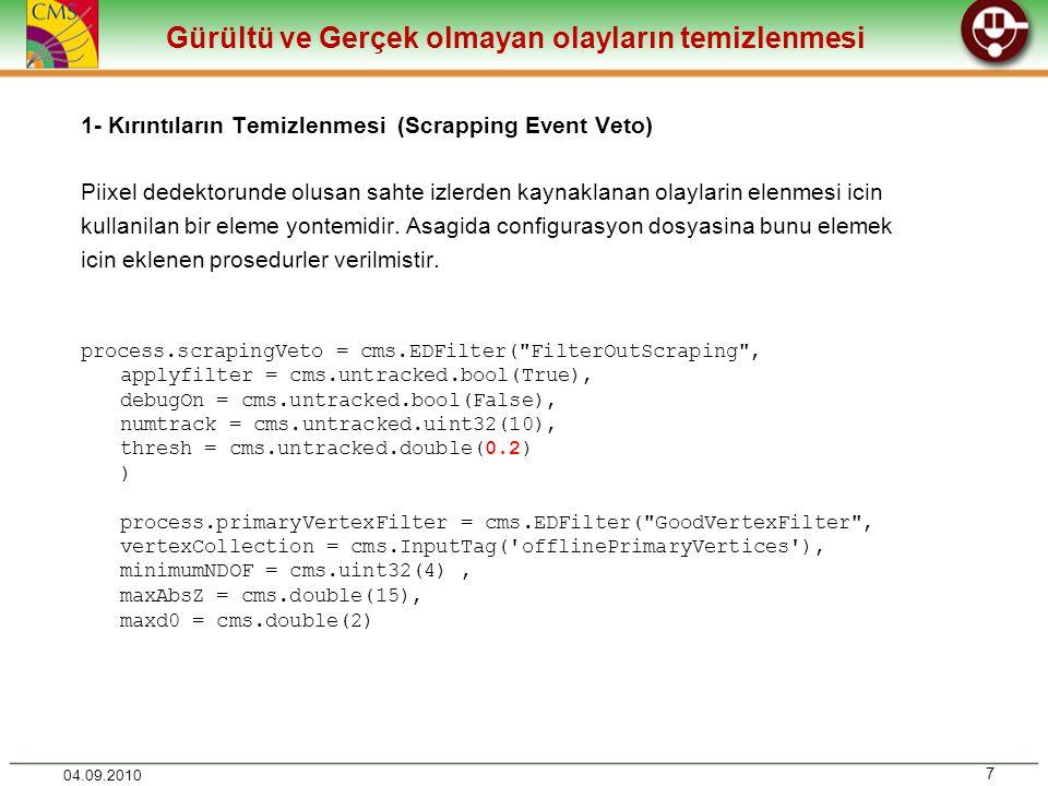 Analiz Kodunun çalıştırılması 28 04.09.2010 Bin klasörü içinde oluşturduğumuz Analiz kodunu Buildfile ile scram a tanıtalım Analiz kodumuz artık scram b ile derlenecektir.