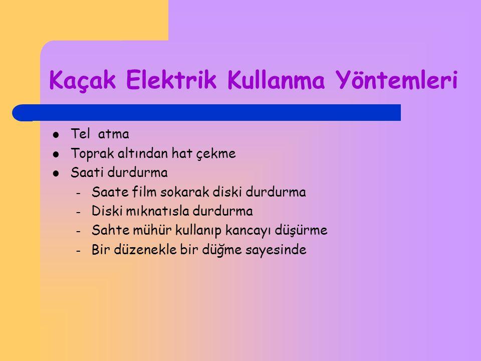 Çözmek İstediğim Sorun Kaçak elektrik kullanımı Kaçak elektrik başkasının bağlantısından izinsiz elektrik Kullanımıdır.Kaçak elektrik,genellikle tüket