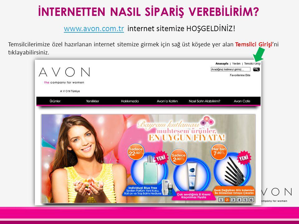 www.avon.com.trwww.avon.com.tr internet sitemize HOŞGELDİNİZ! Temsilcilerimize özel hazırlanan internet sitemize girmek için sağ üst köşede yer alan T