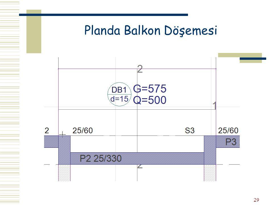 29 Planda Balkon Döşemesi