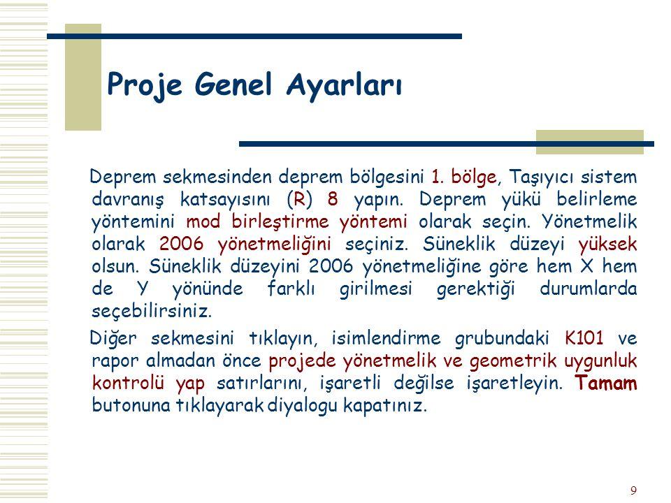 40 Analiz+Betonarme  Analiz + Betonarme, temel döşeme dahil analizi tüm analizleri yapar.