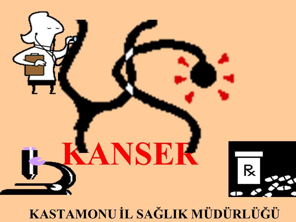 KANSER KASTAMONU İL SAĞLIK MÜDÜRLÜĞÜ