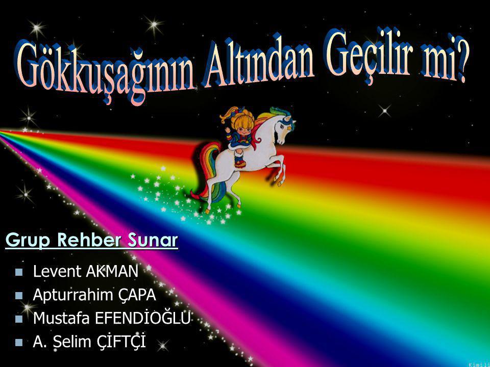  Levent AKMAN  Apturrahim ÇAPA  Mustafa EFENDİOĞLU  A. Selim ÇİFTÇİ Grup Rehber Sunar