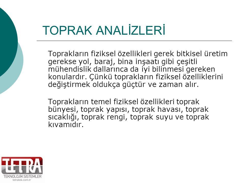 TOPRAK ORGANİK MADDESİ C.