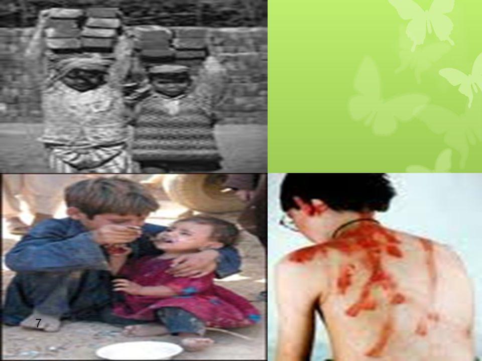 TEHLİKE ALTINDA OLAN ÇOCUKLAR 1-Bir yetişkinin koruma ve bakımı altında olmayan çocuklar —anne babası ölmüş çocuklar —anne baba tarafından terkedilmiş çocuklar 2-İhmal edilen ve toplumsal tehlikelere, suça ve kötü alışkanlıklara karşı korumasız bırakılan çocuklar —sokak çocukları —suç örgütlerince kullanılan ve fuhuşa sürüklenen çocuklar 28