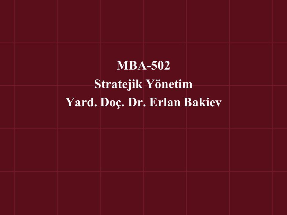 Bölüm 11 Yönetim Stratejilerinin Uygulanmasında Kullanılan Teknikler © Ülgen&Mirze 2004