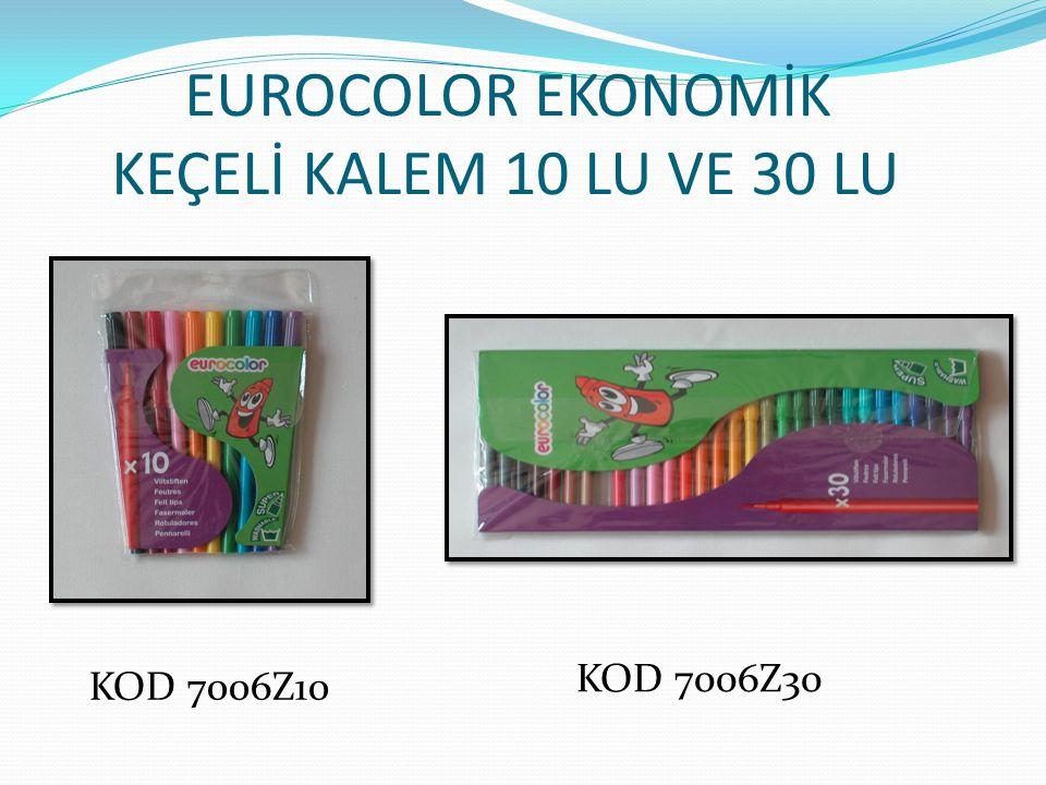 EUROCOLOR EKONOMİK KEÇELİ KALEM 10 LU VE 30 LU KOD 7006Z10 KOD 7006Z30