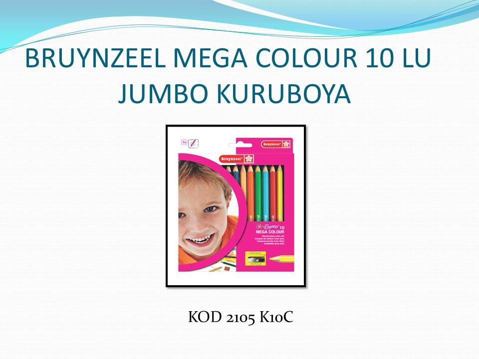 BRUYNZEEL MEGA COLOUR 10 LU JUMBO KURUBOYA KOD 2105 K10C
