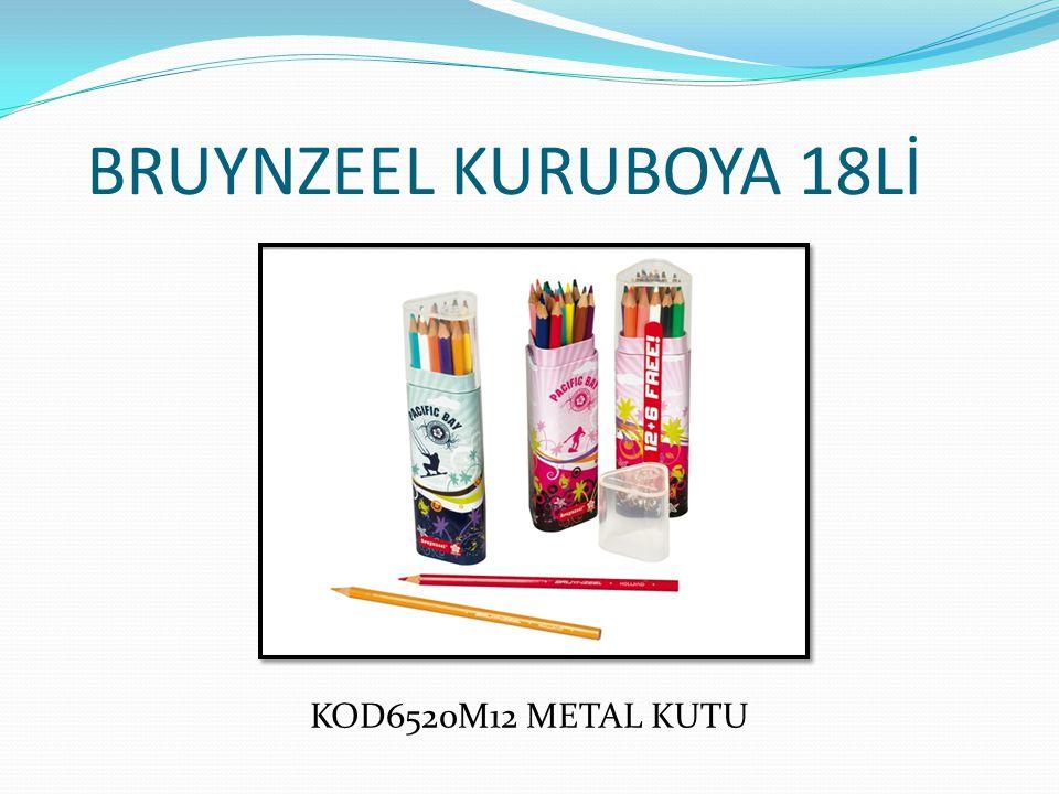 BRUYNZEEL KURUBOYA 18Lİ KOD6520M12 METAL KUTU