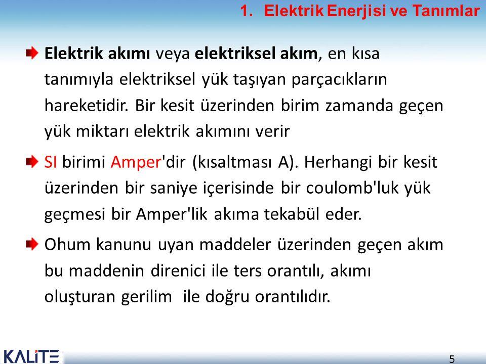 156 Elektrik Tesisatının Kontrolü