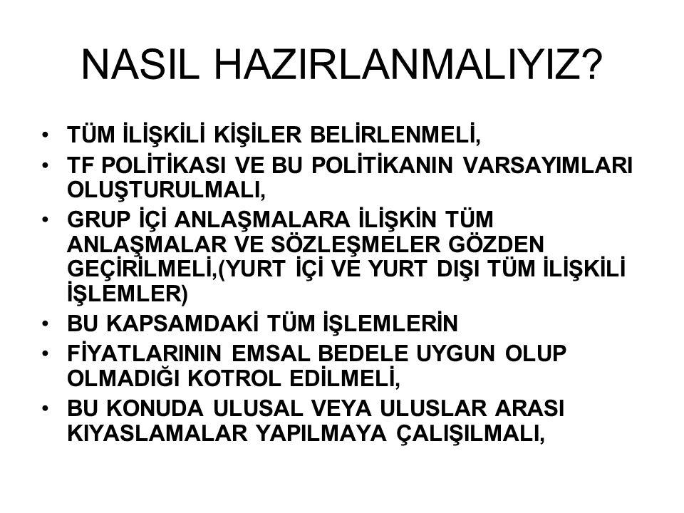 NASIL HAZIRLANMALIYIZ.