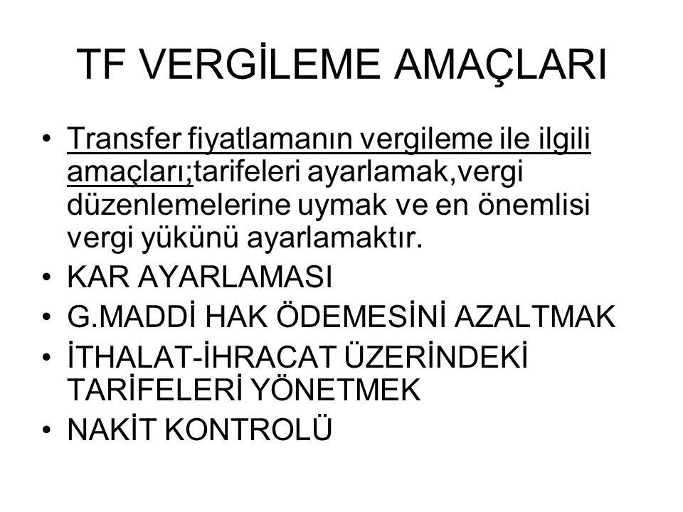 TF NEDİR.