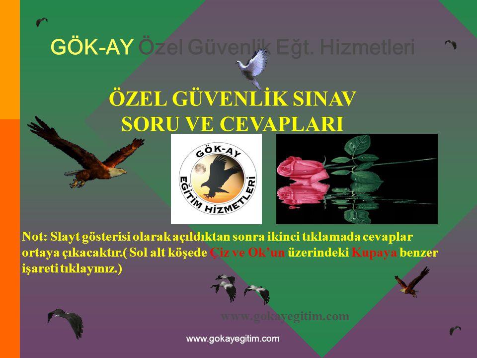 www.gokayegitim.com 91) Aşağıdakilerden hangisi suikastın safhalarından değildir.