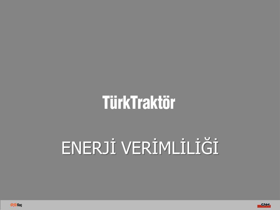 Kompanzasyon ve Harmonik Volkan ŞALLI / Aralık 2011  Türk Traktör Tüm Harmonik ölçümlerini yaptırmış ve bunlarla ilgili olarak pasif filtreleme uygulamasıyla önlemlerini almıştır.