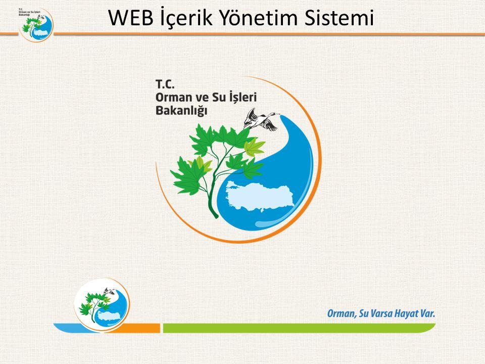 WEB İçerik Yönetim Sistemi