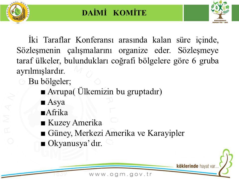 16/12/2010 Kurumsal Kimlik 10 İki Taraflar Konferansı arasında kalan süre içinde, Sözleşmenin çalışmalarını organize eder.