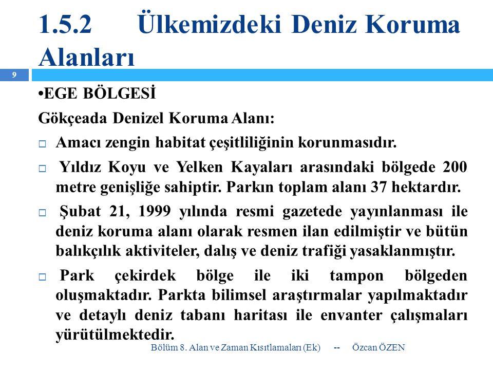 3.Ülkemizde Zaman Yasakları Böcek ve İstakoz; tüm sularımızda sadece 15 Nisan- 15 Haziran arası serbest.