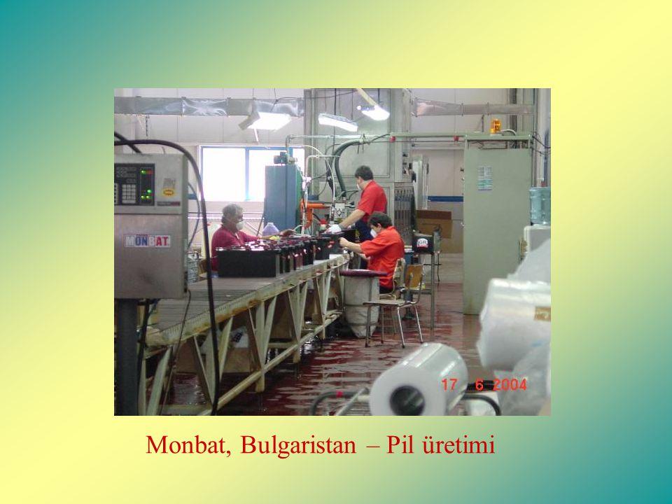 Monbat, Bulgaristan – Pil üretimi