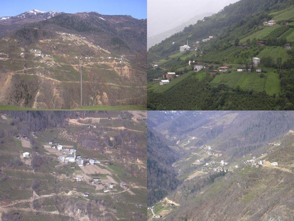 Kır Yerleşmeleri Kır yerleşmeleri, arazinin yapısı ve su kaynaklarının özelliğine göre toplu kır yerleşmeleri ve dağınık kır yerleşmeleri olarak ikiye ayrılır.