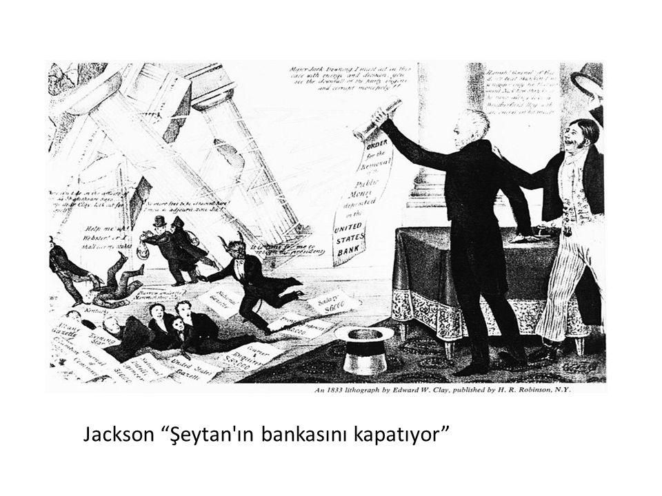 """Jackson """"Şeytan'ın bankasını kapatıyor"""""""