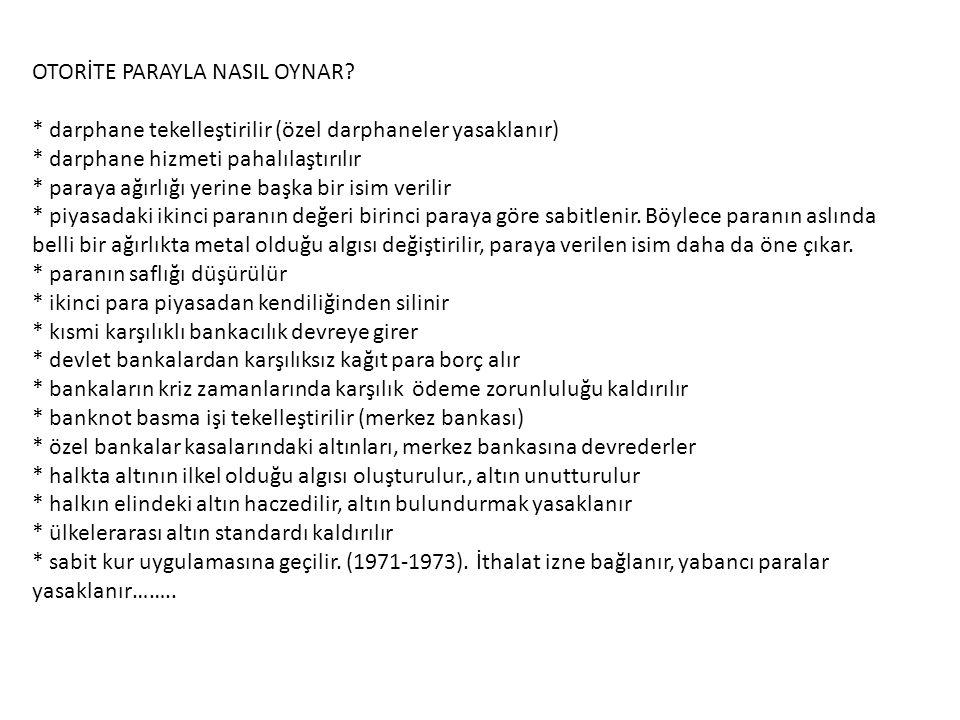 OTORİTE PARAYLA NASIL OYNAR.