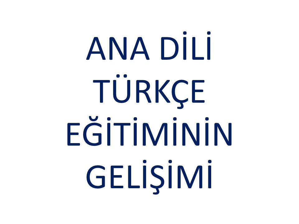 Eski Türkçe döneminin başlangıç aşaması Köktürkçedir.