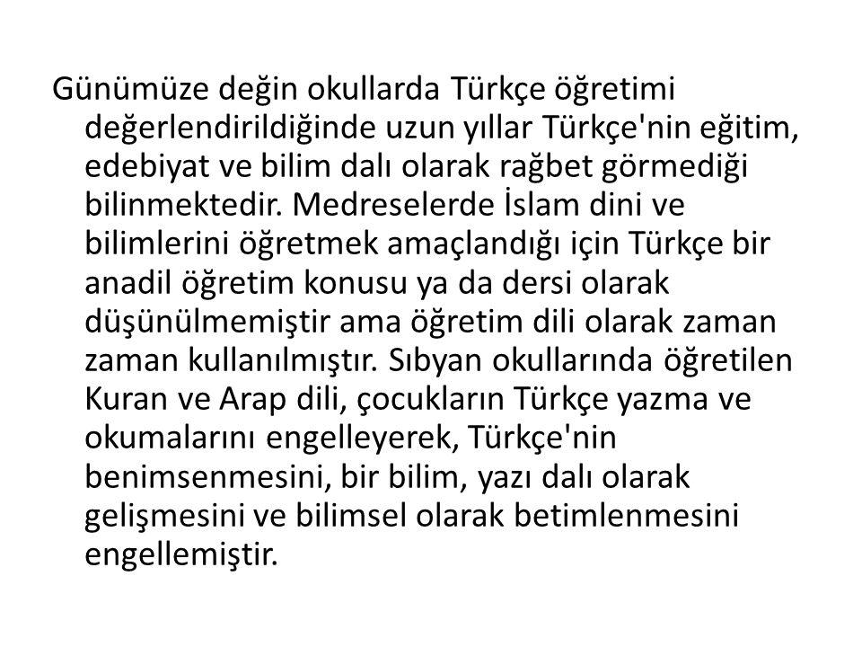 Türk dili, bu dönemde, bu üç yazı dili dışında henüz farklı bir yazı dili oluşturmamıştır.