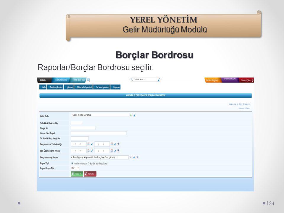 Raporlar 123 Raporlar menüsü altında Tür veya Tip Raporları altında 10 adet rapor bulunmaktadır. •Ceza Tipi Raporu •İşgal Tipi Raporu •Kira Türü Rapor