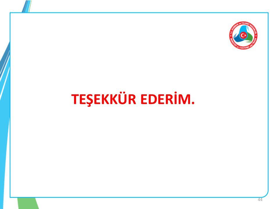 TEŞEKKÜR EDERİM. 44