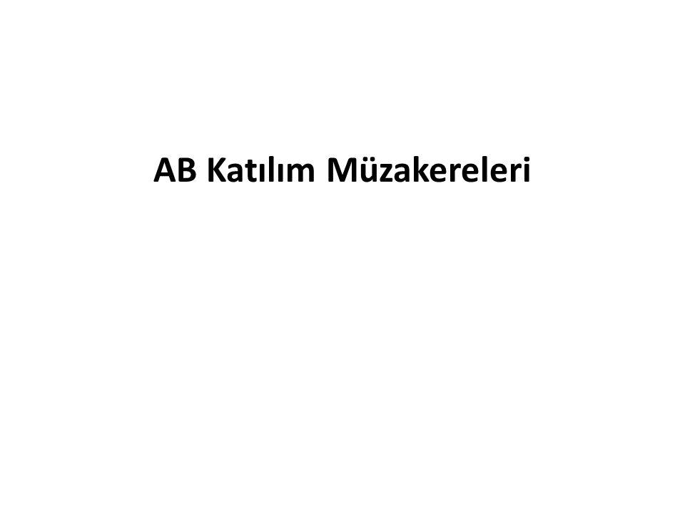 AB Katılım Müzakereleri