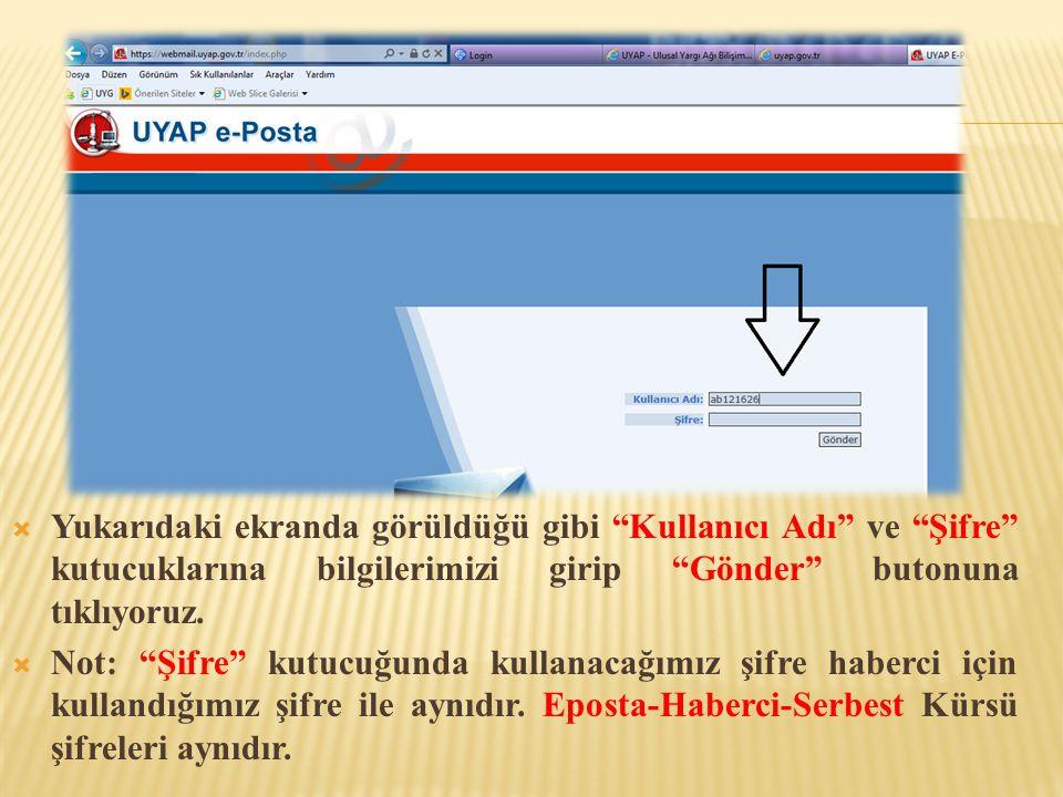  Yukarıdaki ekranda görüldüğü gibi Onay Kodu: bölümündeki onay kodunu alıp Şifre Talep sayfasına yapıştırıyoruz.