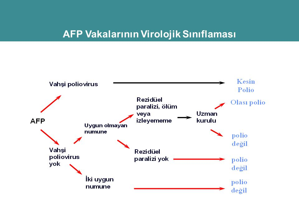 AFP Vakalarının Virolojik Sınıflaması