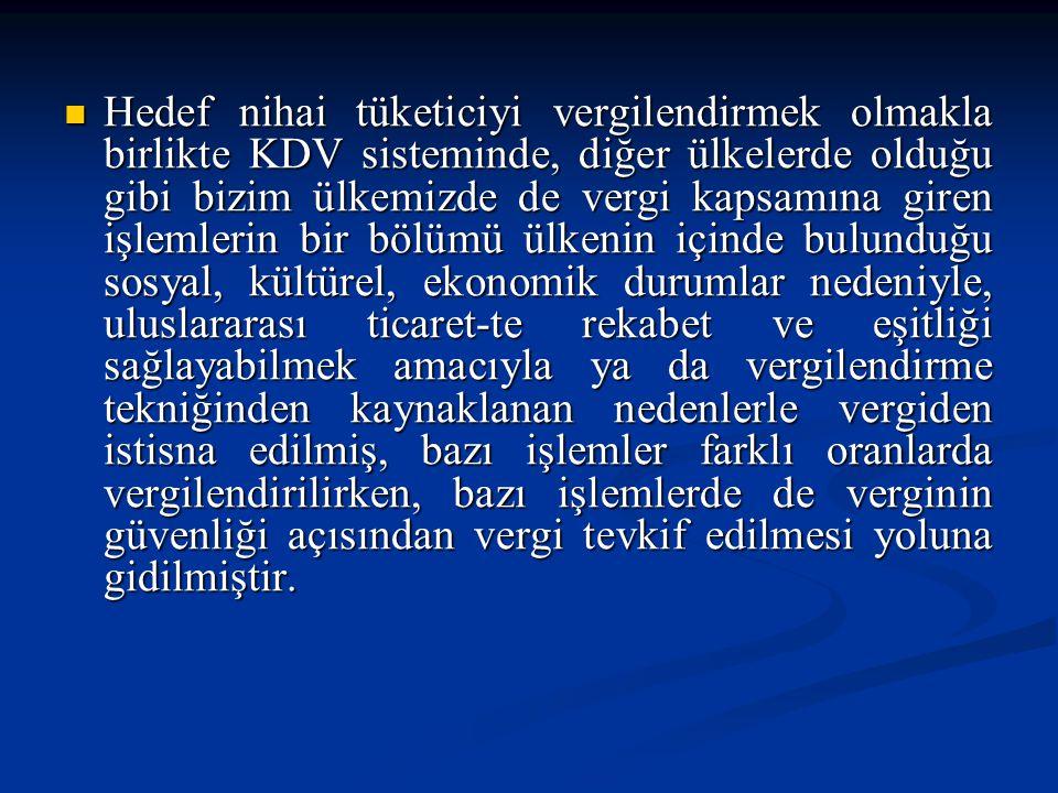 c) Vergi İnceleme Raporuyla İade Mükelleflerin, i.