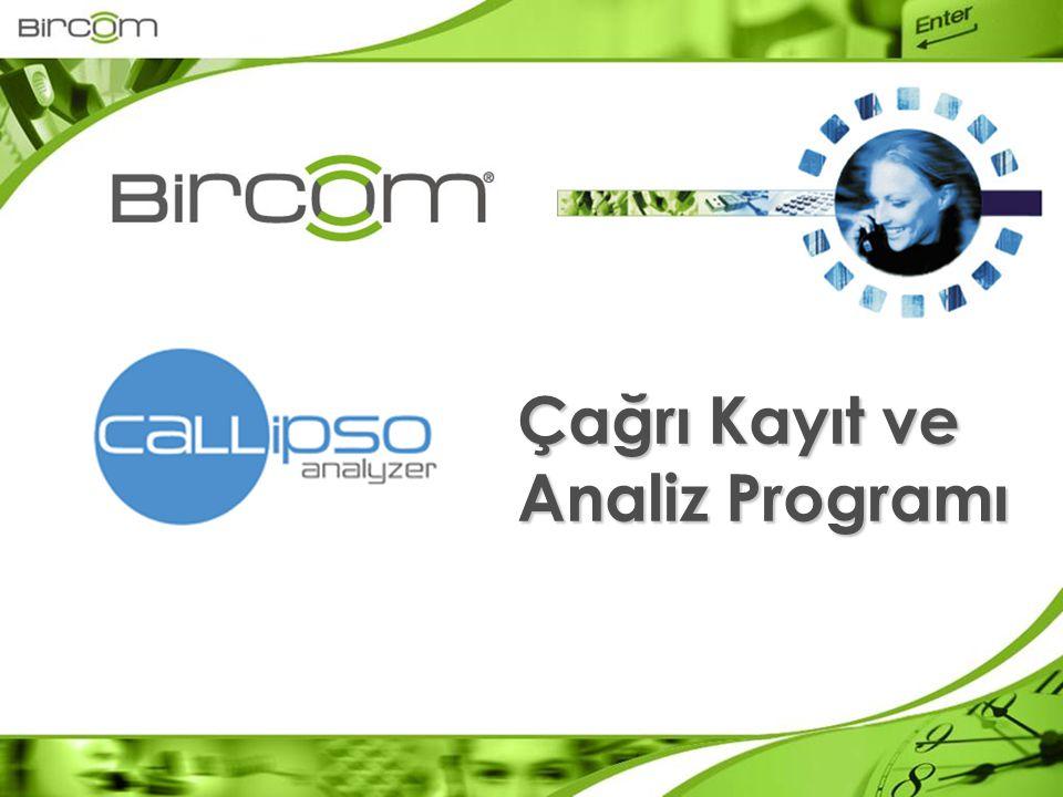 Callipso Analyzer Enterprise Türk Telekom, Turkcell, Telsim, Avea tarifeleri yüklü halde gelir.