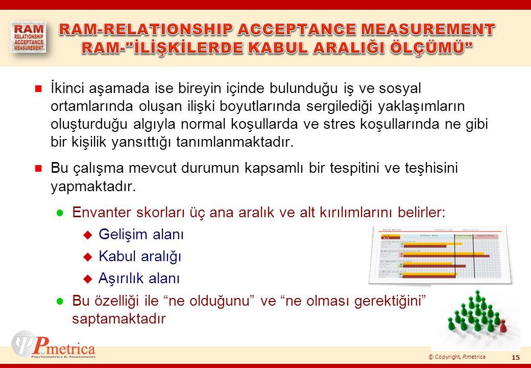 © Copyright, P.metrica n İkinci aşamada ise bireyin içinde bulunduğu iş ve sosyal ortamlarında oluşan ilişki boyutlarında sergilediği yaklaşımların ol