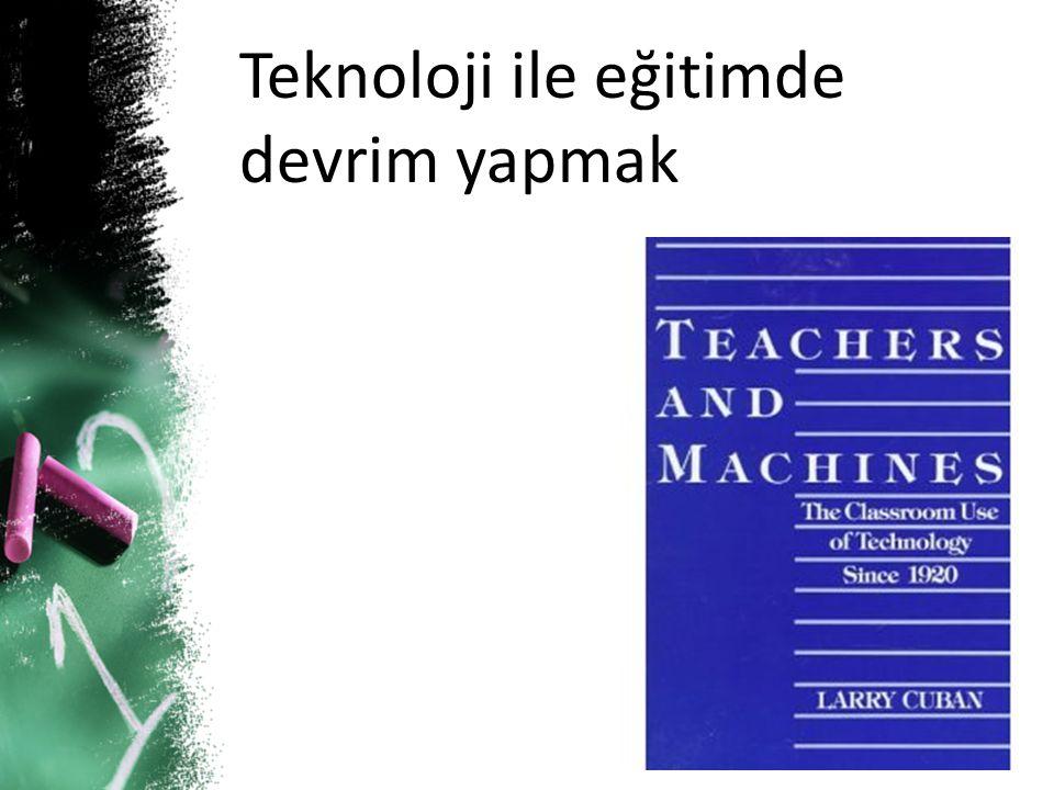 Öğrenmeyi Etkili/Sürekli Kılmak İçin Teknoloji ile Zenginleştirilmiş Öğrenme Ortamları