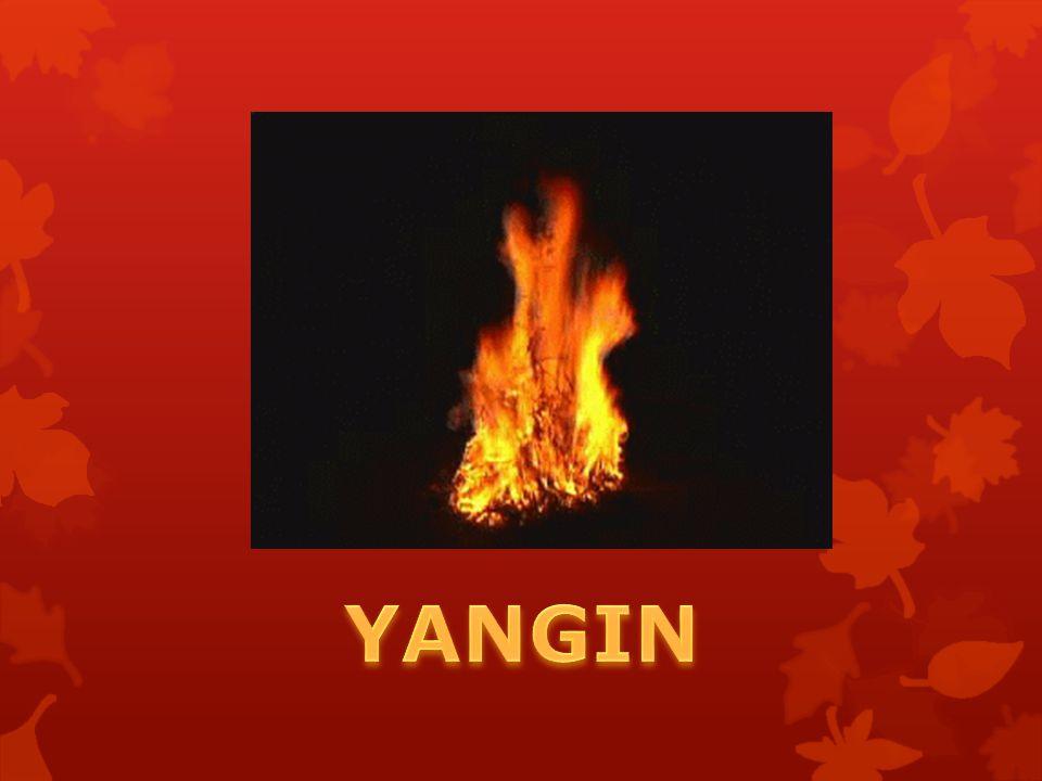 Söndürme malzemesi seçiminde kolaylık amacıyla yangınlar sınıflandırılmıştır.