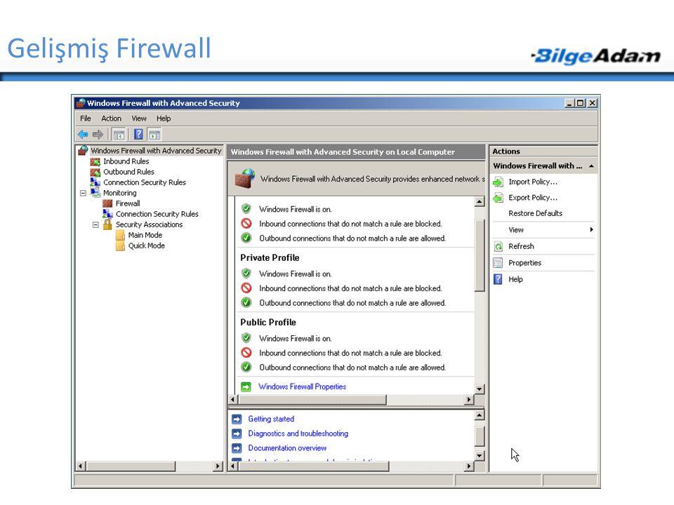 Gelişmiş Firewall