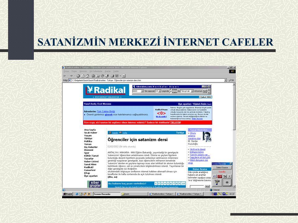 İNTERNET CAFE DENETİMLERİ ARTACAK