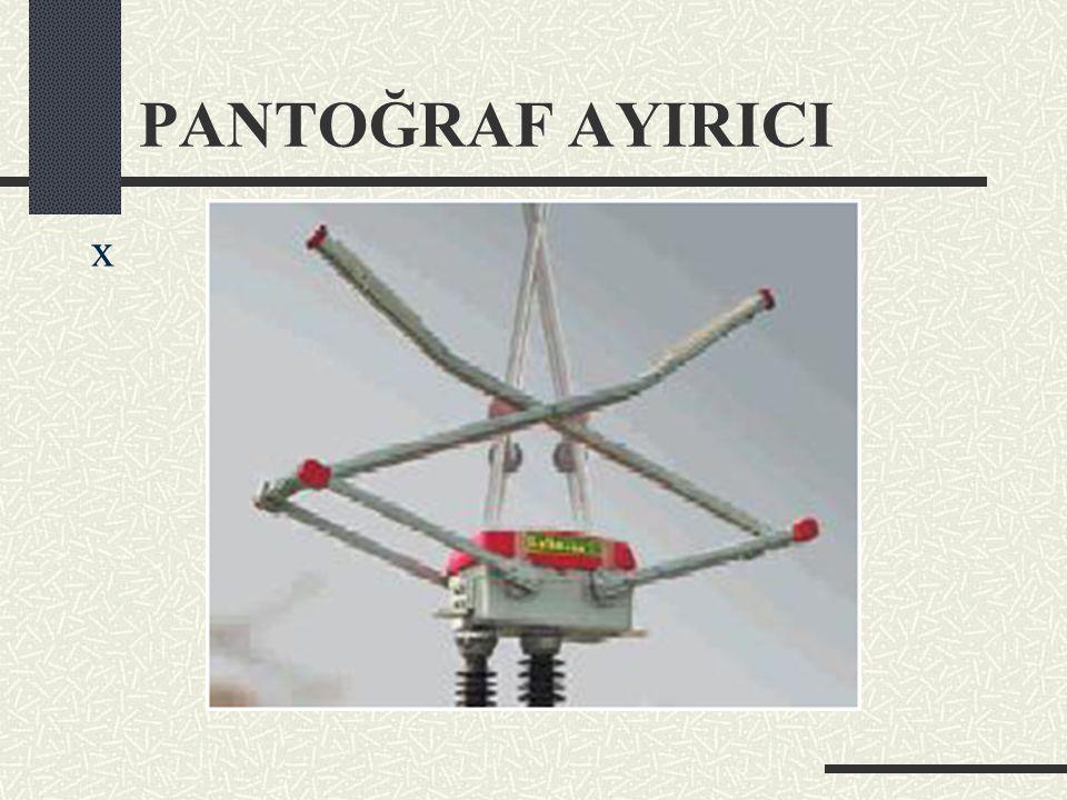 PANTOĞRAF AYIRICI x