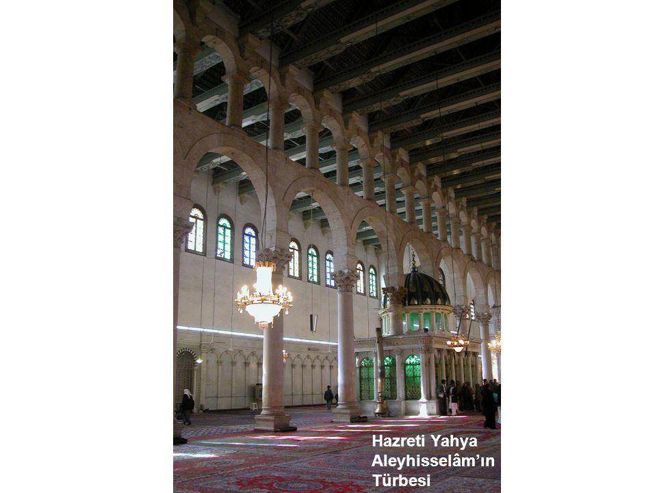 Hazret-i Yahya (aleyhisselâm) Hazret-i Zekeriyya (a.s.)'nın oğludur.