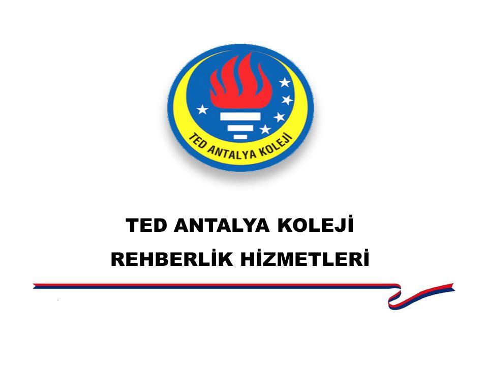 TED ANTALYA KOLEJİ REHBERLİK HİZMETLERİ